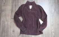 Свитер из велюровой пряжи спицами: (джемпер) — велюровый женский свитер