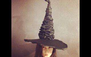Шляпа гарри поттера своими руками: 3 способа с инструкциями