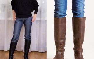 Можно ли заправлять джинсы в сапоги: когда заправлять, а когда нельзя