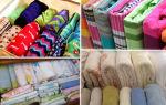 Как сложить постельное белье — методы складывания белья в шкаф