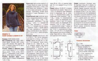 Джемпер оверсайз спицами: вязание объемного джемпера крупной вязкой, схемы и описание