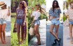 С чем носить синие шорты — повседневные и летние наряды, подбор обуви к синим женским шортам