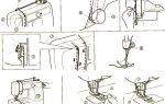 Как заправить нитку в детскую швейную машинку: последовательность действий