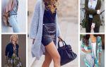 С чем носить женский джинсовый кардиган (фото); с чем сочетать не стоит