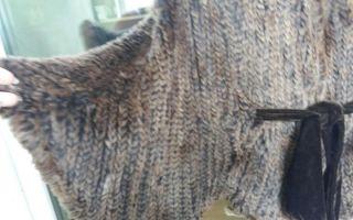 Вязаная шуба из кролика своими руками: пошаговое руководство, как сделать вязаную шубу из кролика