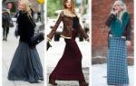 Что надеть с юбкой в пол: с чем носить длинную юбку в пол, как носить юбку в пол зимой