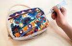 Роспись сумок акриловыми красками: стиль бохо, этапы работ