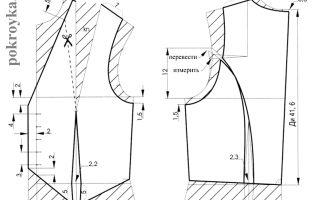 Как сшить удлиненный женский жилет своими руками: выкройка, построение, раскрой и пошив пошагово