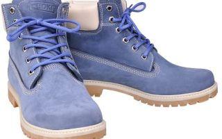 С чем носить синие ботинки: женские зимние ботинки, ботильоны, мужские ботинки