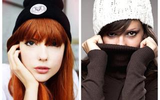 Какую шапку носить с челкой: какую выбрать шапку для причёски с чёлкой, как носить шапку с чёлкой