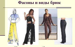 Виды брюк: мужские и женские фасоны, их особенности и разновидности