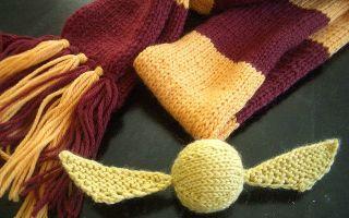 Шарф гарри поттера: связать спицами, техника вязания
