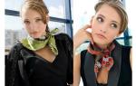 Изысканные варианты, как повязать платок на шею: 9 способов изысканно завязать шарф на шее