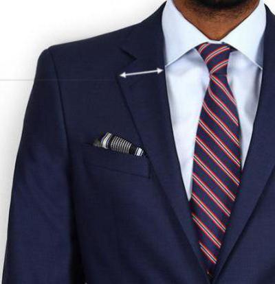 Что такое лацкан пиджака: описание, виды, фото