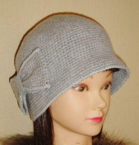 Шляпка клош крючком: как вязать шляпку клош крючком, схемы и описание, как украсить шляпку клош