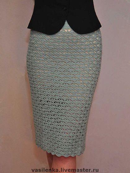 Юбка-карандаш крючком: вязанная крючком юбка-карандаш для женщин со схемами и описанием