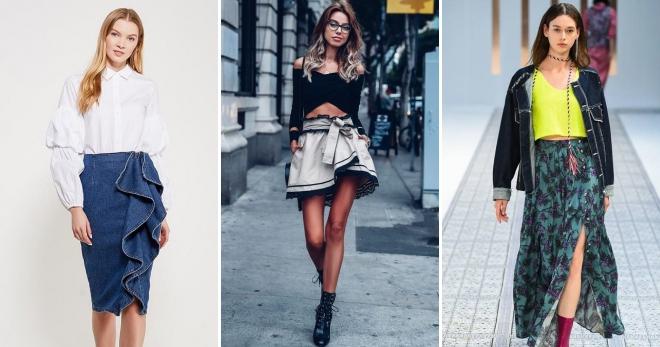 Юбки макси 2019 года: модные тенденции и фото