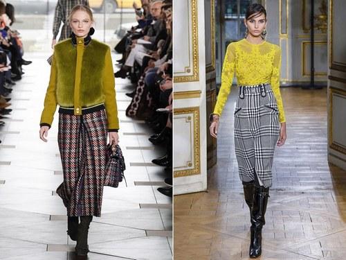 Юбки в клетку 2018 года модные тенденции: фасоны и модели, с чем можно носить