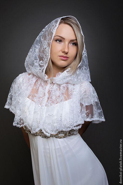 сшить платок в церковь своими руками выкройка